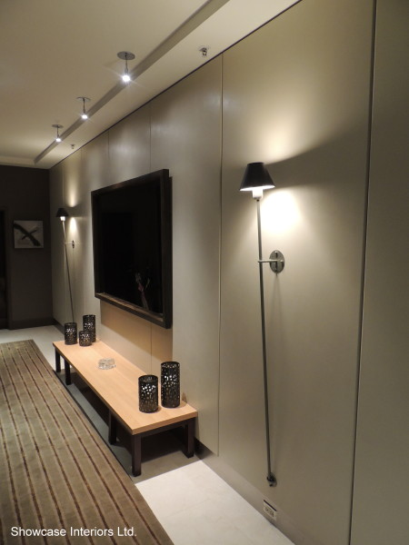 Elevator Lobby Showcase Interiors Ltd.