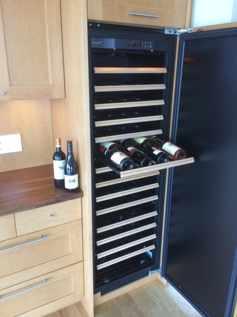 Wine Fridge Installation